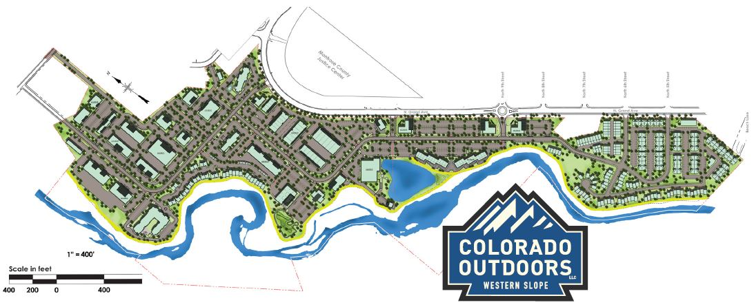 Colorado Outdoors Project Map